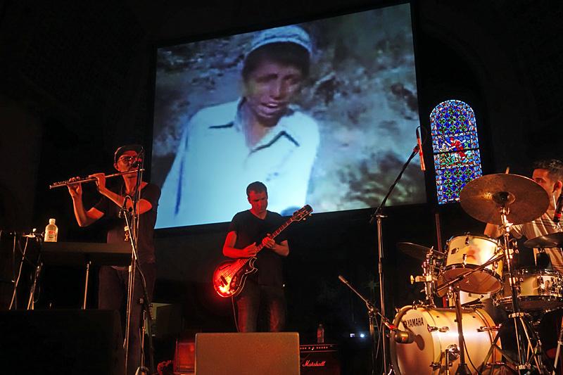 Nils Berg CinemaScope performing at the 2015 Rochester International Jazz Festival