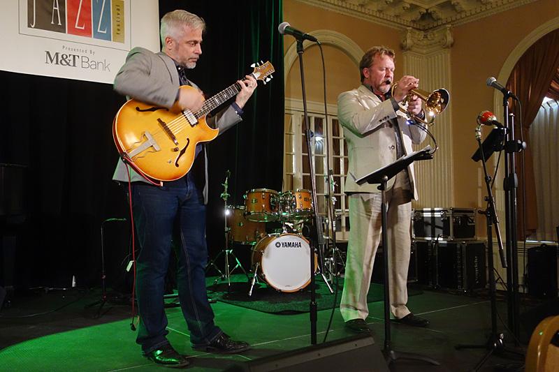 Barnes Herriott Duo performing at the 2015 Rochester International Jazz Festival
