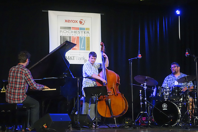 Trio Red performing at the 2015 Rochester International Jazz Festival