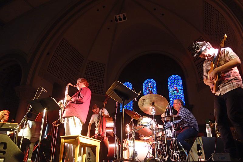 Elvind Opsvik Overseas performing at the 2015 Rochester International Jazz Festival