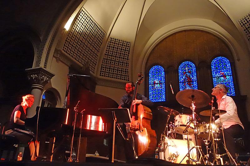 Julia Hulsmann Trio performing at the 2015 Rochester International Jazz Festival