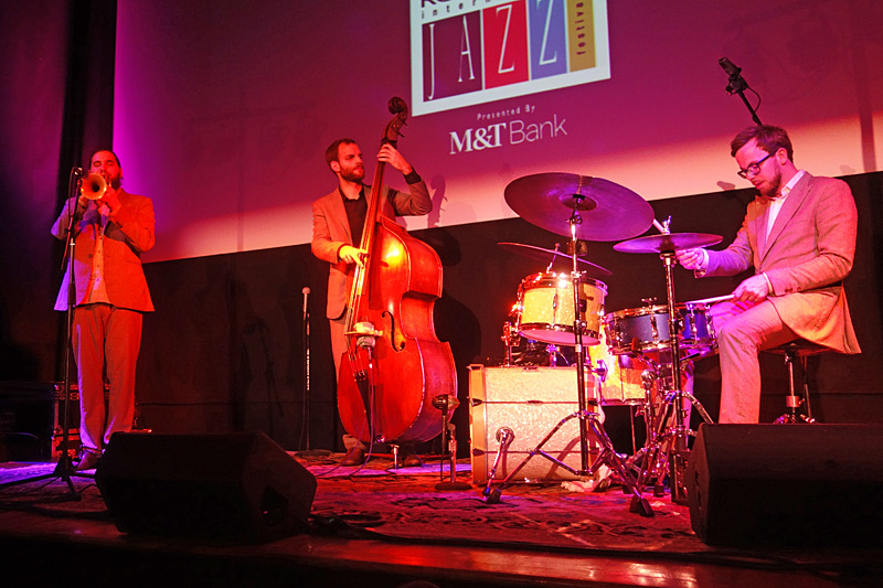 Interzone performing at the 2015 Rochester International Jazz Festival