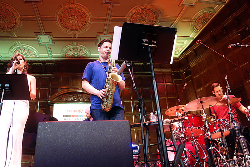 Antonio Sanchez & Migration performing at the 2015 Rochester International Jazz Festival