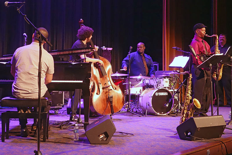 Omer Avital Quintet performing at the 2015 Rochester International Jazz Festival