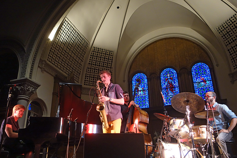 High Definition Quartet performing at the 2015 Rochester International Jazz Festival