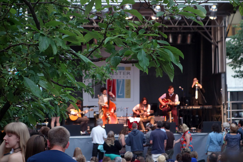 Gypsophilia performing at the 2015 Rochester International Jazz Festival