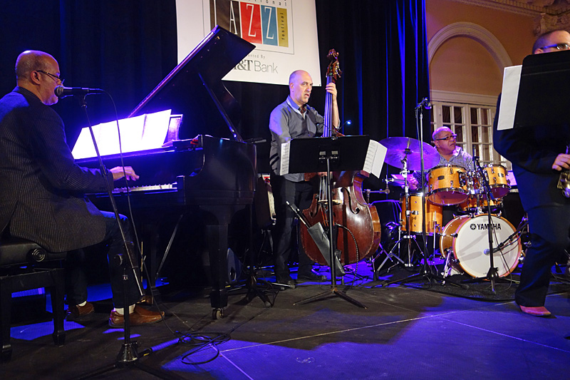 Ignacio Berroa & Hilario Duran performing at the 2015 Rochester International Jazz Festival