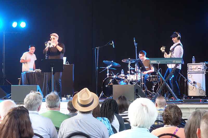 Dave Douglas & High Risk performing at the 2015 Rochester International Jazz Festival