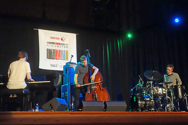 Go Go Penguin performing at the 2015 Rochester International Jazz Festival