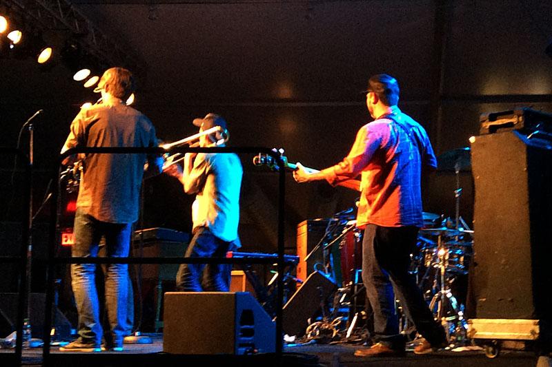 Polyrythmics performing at the 2016 Rochester International Jazz Festival