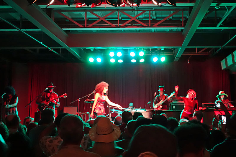 Judith Hill performing at the 2016 Rochester International Jazz Festival
