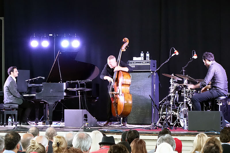 Avishai Cohen performing at the 2016 Rochester International Jazz Festival