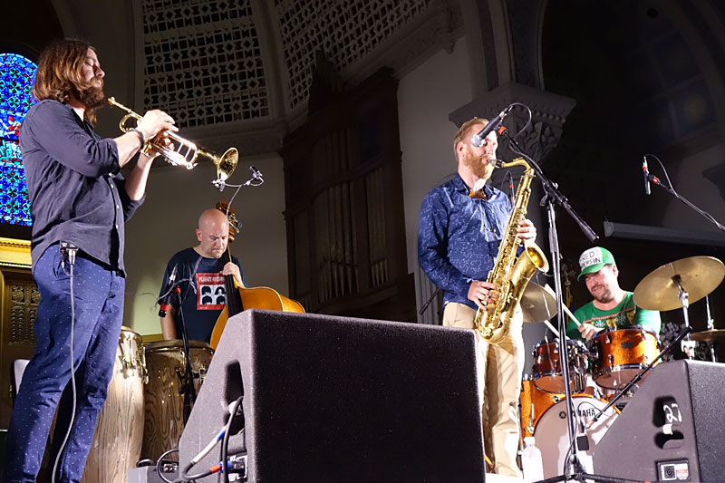 Nacka Forum performing at the 2016 Rochester International Jazz Festival