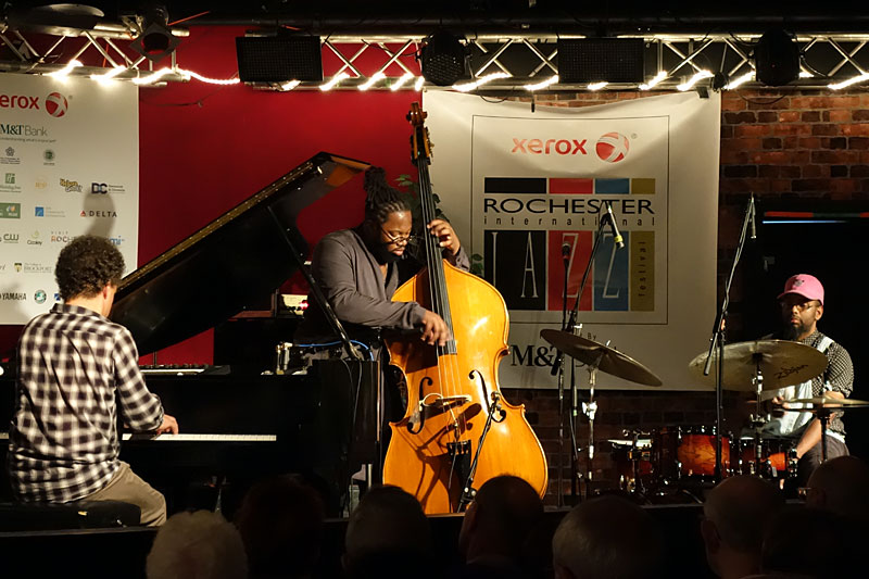 Jacky Terrasson performing at the 2016 Rochester International Jazz Festival