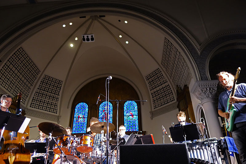 Flat Earth Society performing at the 2016 Rochester International Jazz Festival