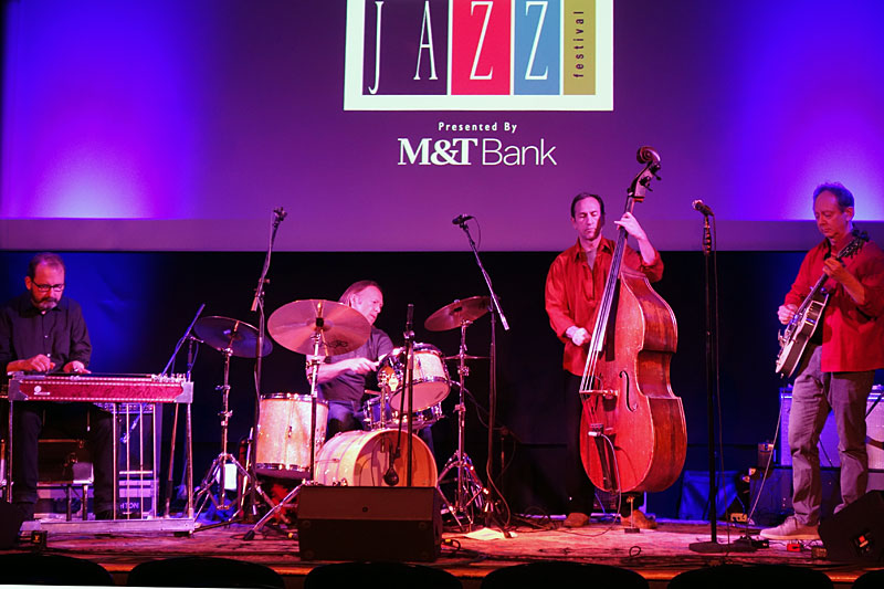 Jacob's Cattle performing at the 2016 Rochester International Jazz Festival