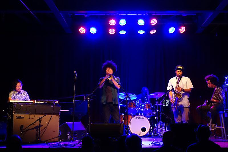 Takuya Kuroda performing at the 2016 Rochester International Jazz Festival