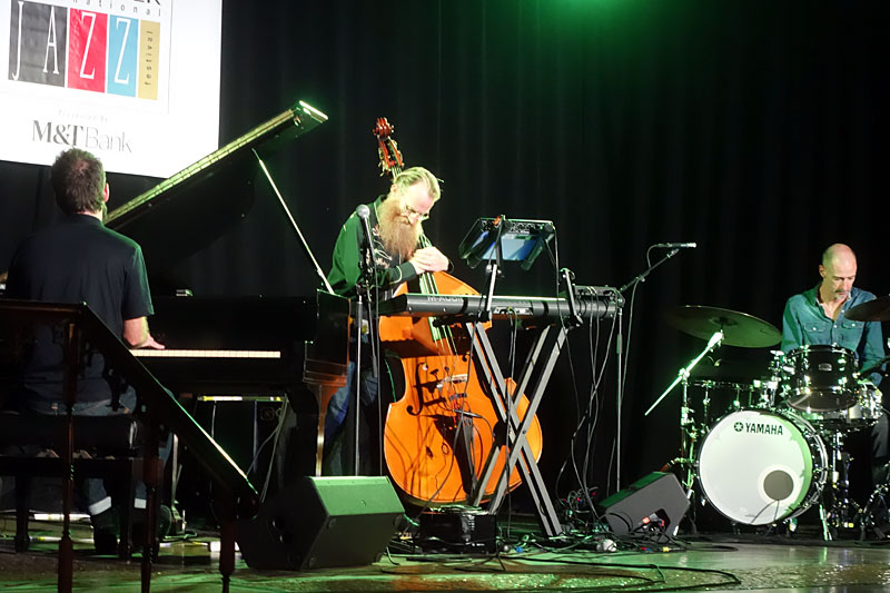 Neil Cowley Trio performing at the 2017 Rochester International Jazz Festival