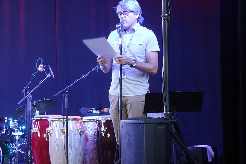 Shabaka & the Ancestors performing at the 2017 Rochester International Jazz Festival
