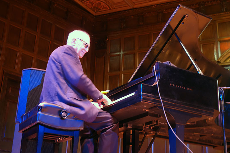 Steve Kuhn performing at the 2017 Rochester International Jazz Festival