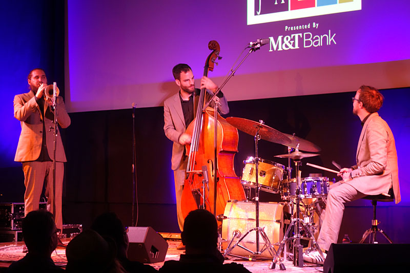 Mario Rom Interzone performing at the 2017 Rochester International Jazz Festival