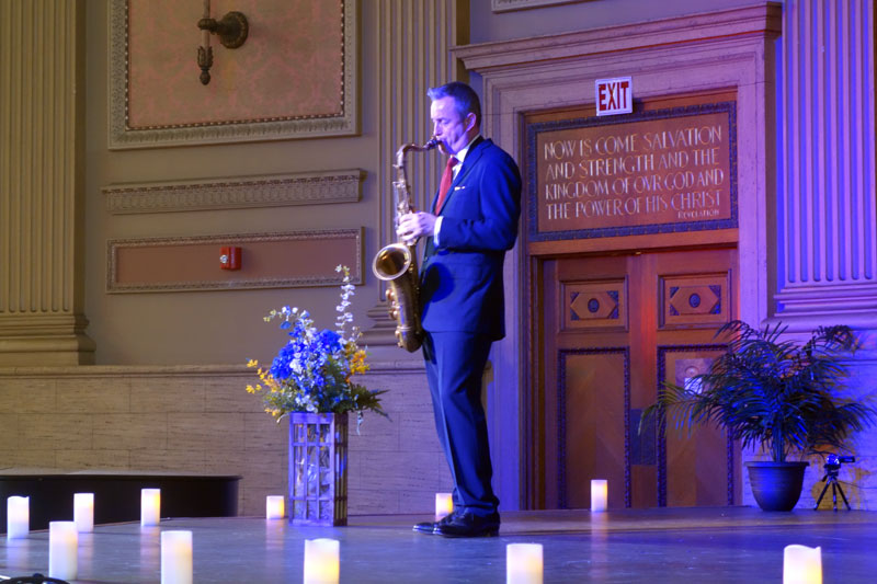 Tommy Smith performing at the 2017 Rochester International Jazz Festival