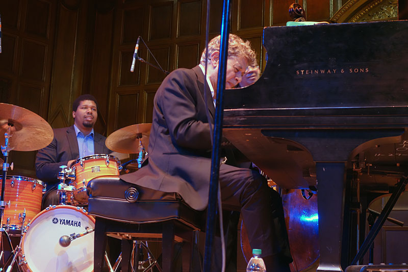 Monty Alexander performing at the 2017 Rochester International Jazz Festival