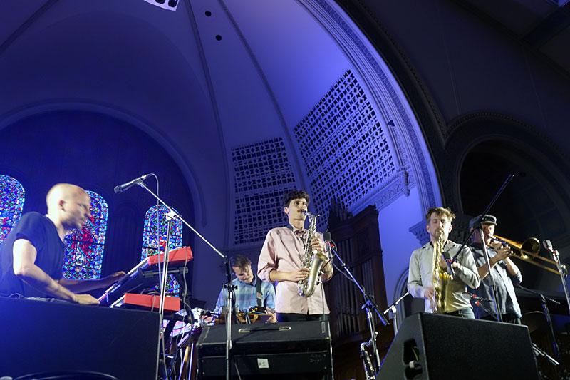 Klabbesbank performing at the 2017 Rochester International Jazz Festival