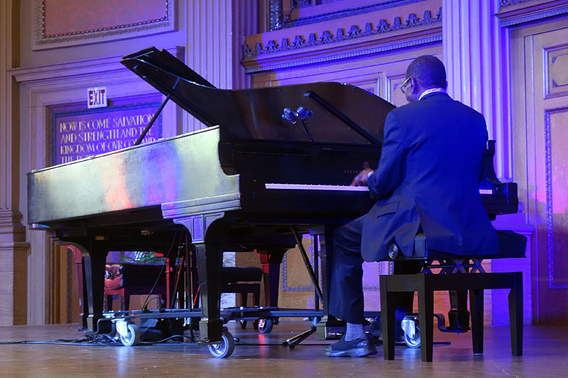 4 By Monk By 4 performing at the 2017 Rochester International Jazz Festival
