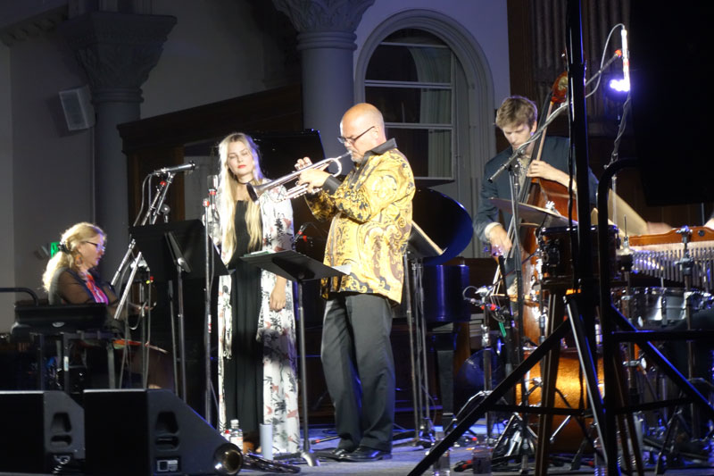 Iris Bergcrantz Group performing at the 2017 Rochester International Jazz Festival