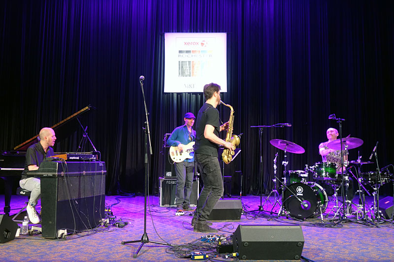 Donny McCaslin Group performing at the 2017 Rochester International Jazz Festival