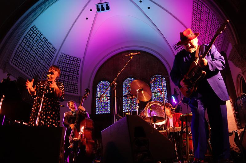 Solveig Slettahjell performing at the 2018 Rochester International Jazz Festival