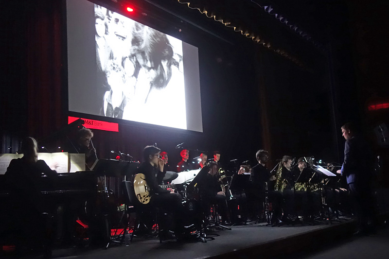 The German Youth Orchestra performing at the 2018 Rochester International Jazz Festival