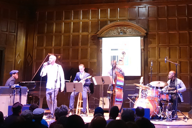 Songs of Freedom performing at the 2018 Rochester International Jazz Festival