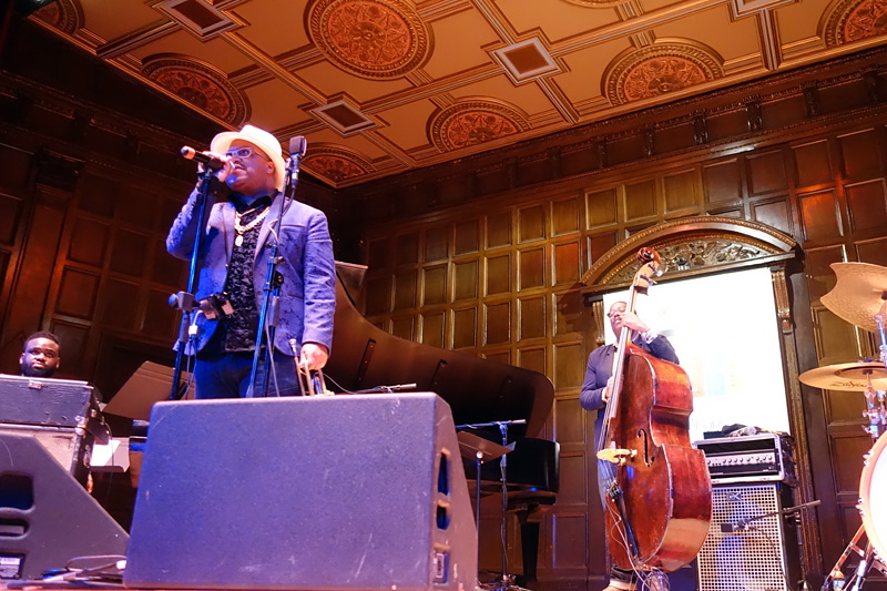 Nicholas Payton performing at the 2018 Rochester International Jazz Festival