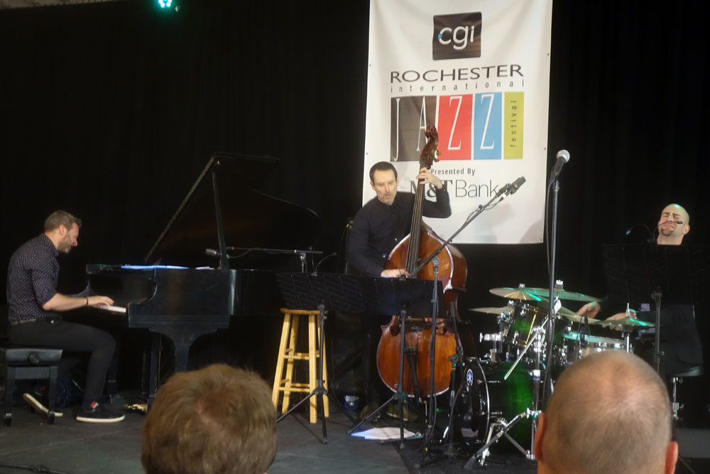 Jared Schonig & Friends performing at the 2019 Rochester International Jazz Festival