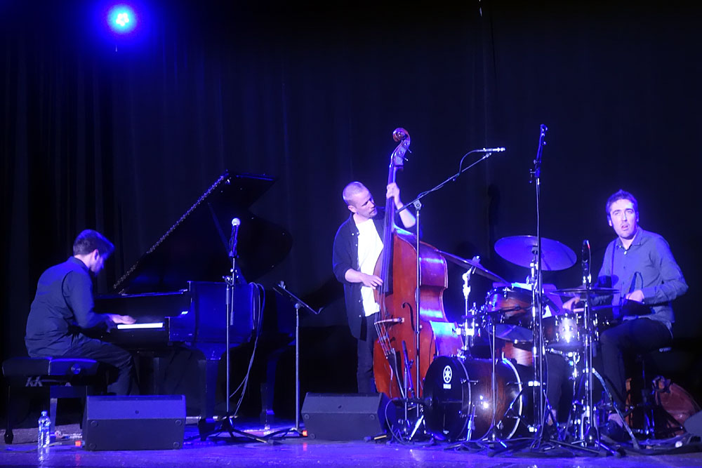 Enemy performing at the 2019 Rochester International Jazz Festival
