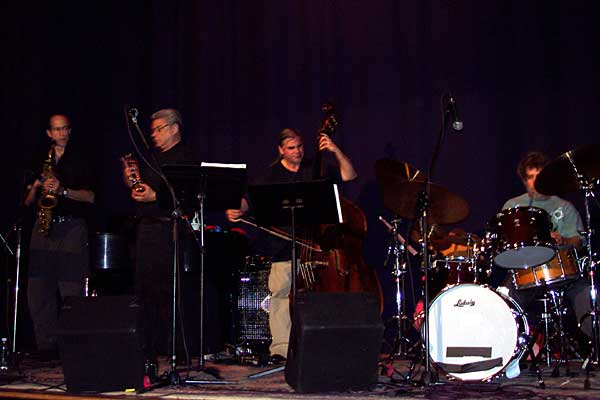 Avant Galoppi performing at the 2004 Rochester International Jazz Festival