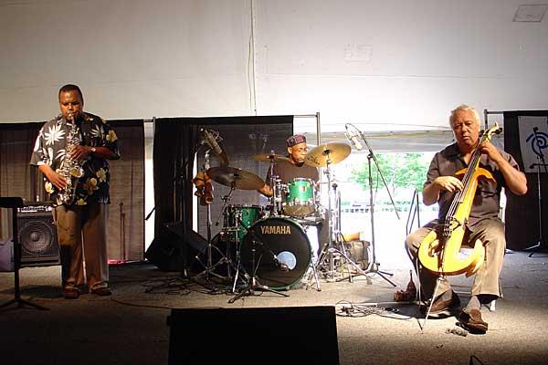 Arthur Blythe Trio performing at the 2005 Rochester International Jazz Festival