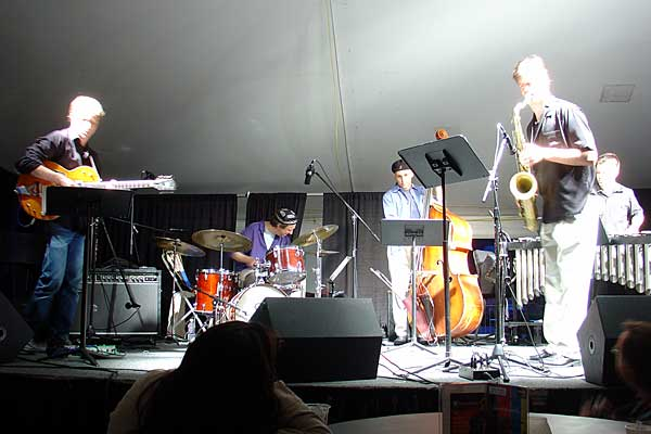 Circle Wide performing at the 2005 Rochester International Jazz Festival