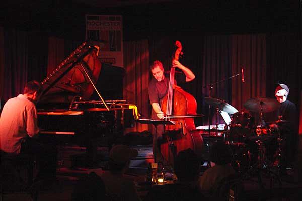 Jacob Anderskov Trio performing at the 2005 Rochester International Jazz Festival