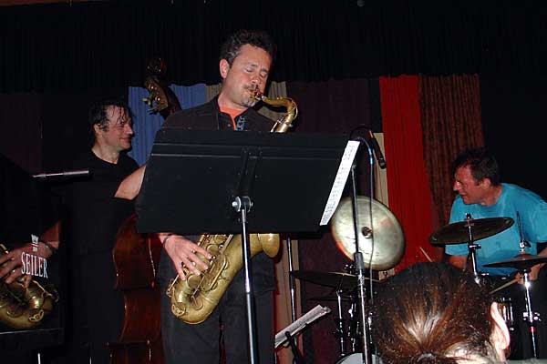 Moutin Reunion performing at the 2005 Rochester International Jazz Festival