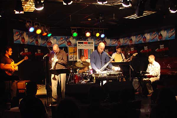 Orange Alert performing at the 2005 Rochester International Jazz Festival