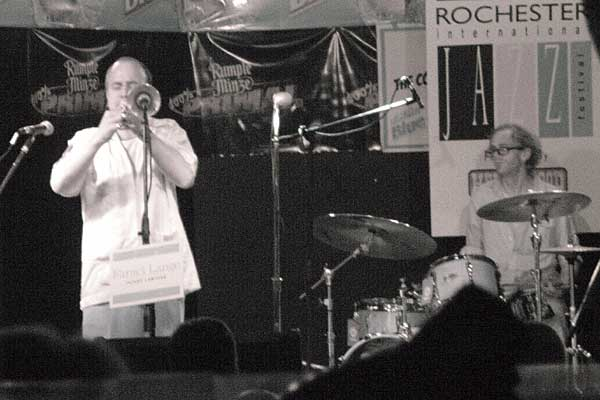 Sex Mob performing at the 2005 Rochester International Jazz Festival