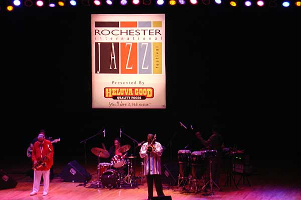 Sonny Rollins performing at the 2005 Rochester International Jazz Festival