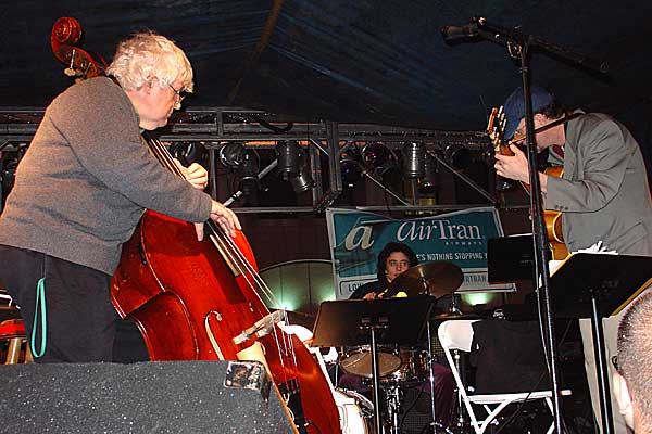 Steve Greene Trio performing at the 2005 Rochester International Jazz Festival