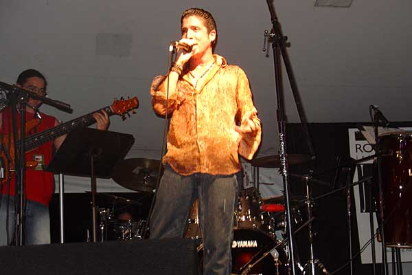 Tiempo Libre performing at the 2005 Rochester International Jazz Festival