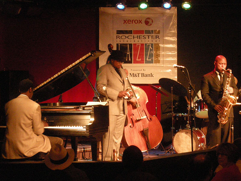 Jeremy Pelt Quintet performing at the 2010 Rochester International Jazz Festival