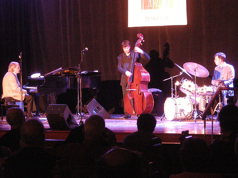 Stan Tracy Trio performing at the 2010 Rochester International Jazz Festival
