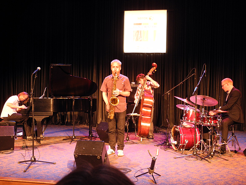 Jonas Kullhammar performing at at the 2011 Rochester International Jazz Festival